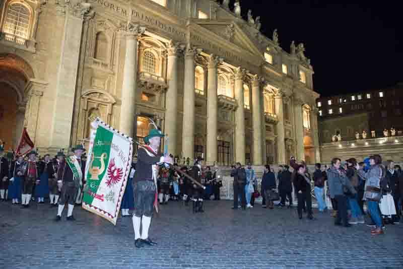 Schützen in Rom