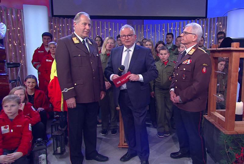 Feierstunde mit ORF-Friedenslicht