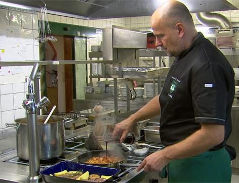 Kulinarik: Geschmorte Lammstelze