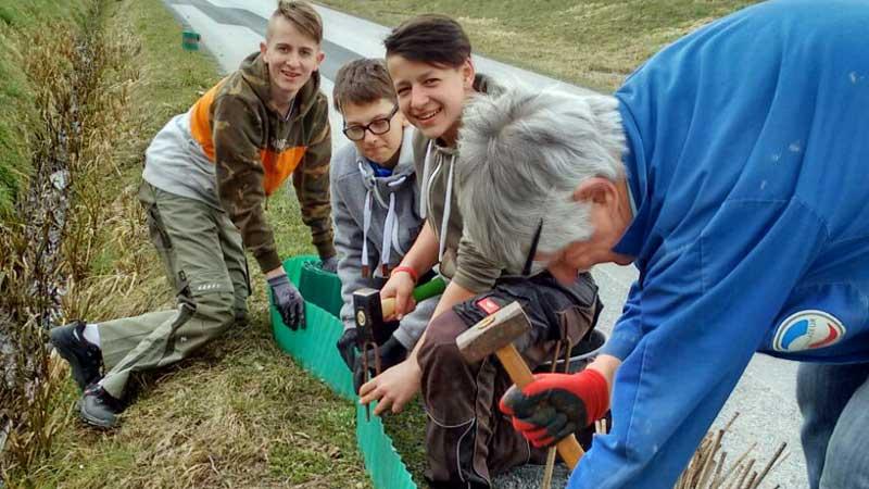"""Aktivnosti NSŠ Sveti Mihalj u okviru projekta  """"Jezero za rasline, živine i ljude"""""""