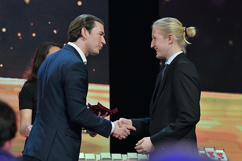 Sebastian Kurz und Elijah