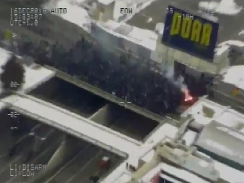 Nach Kritik an Polizeieinsatz bei Derby: Polizei veröffentlicht Bilder