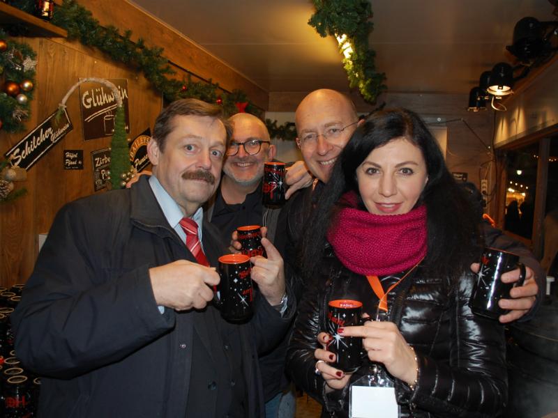 Werner Gruber, Hadschi Bankhofer, Konrad Mitschka und Jasmin Dolati