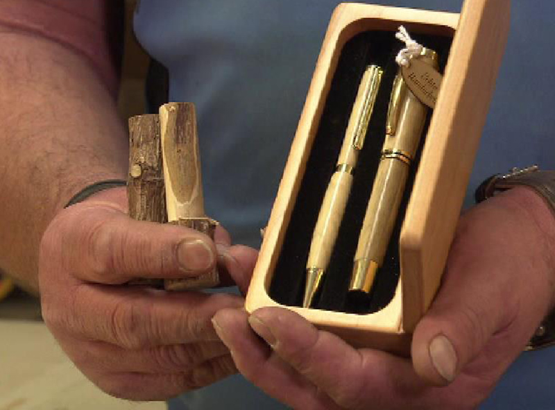 Holzkugeschreiber