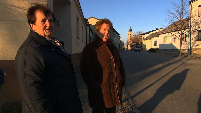 Anna Palda und Gerta Schneider