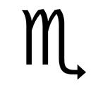 Symbol Sternzeichen Skorpion