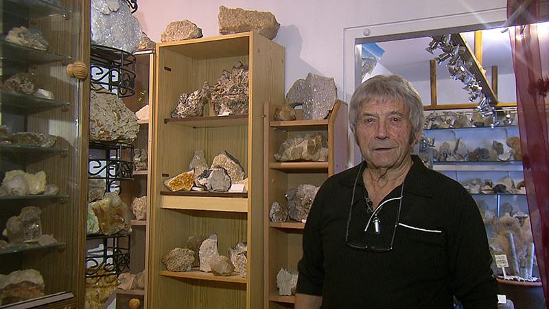 Mineraliensammler Franz Zoidl