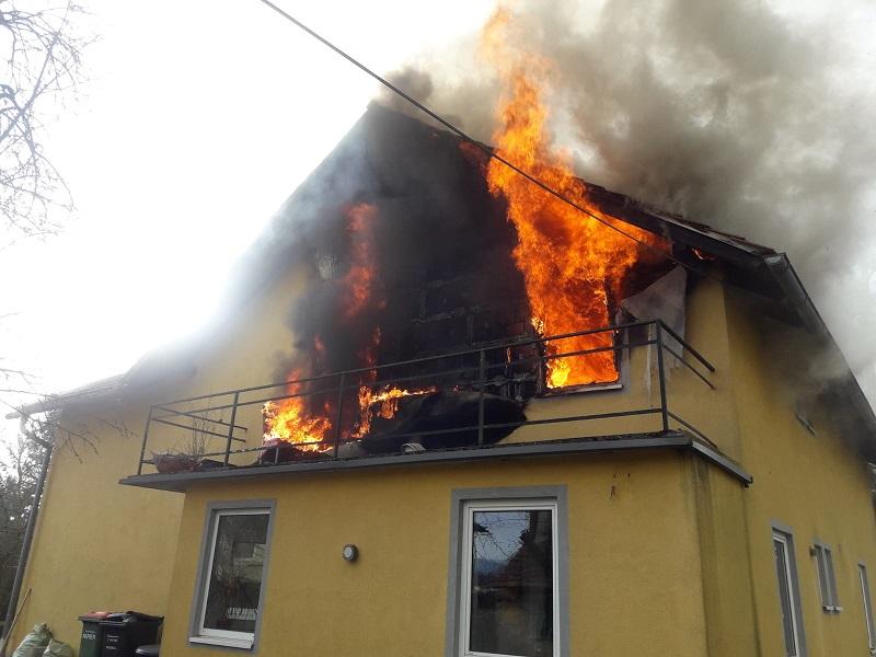 Brand in Gössendorf