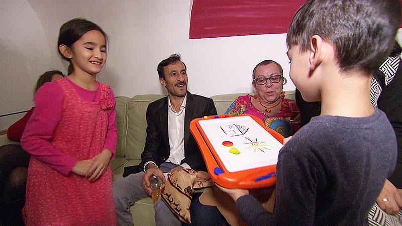 Afghanen in Pinkafeld  feiern Geburtstag