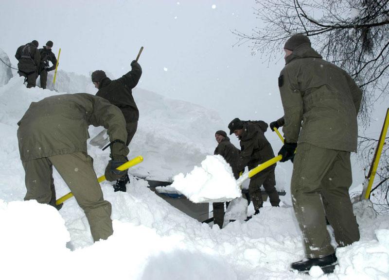 Alarmbereitschaft Bundesheer Winter