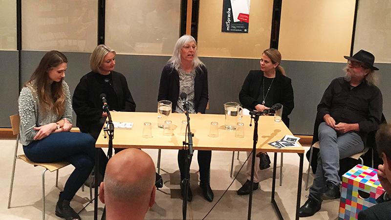 Diskussion über die Kraft der Literatur im Literaturhaus Mattersburg