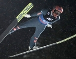 Skispringer Stefan Kraft beim Finale der Vierschanzentournee in Bischofshofen