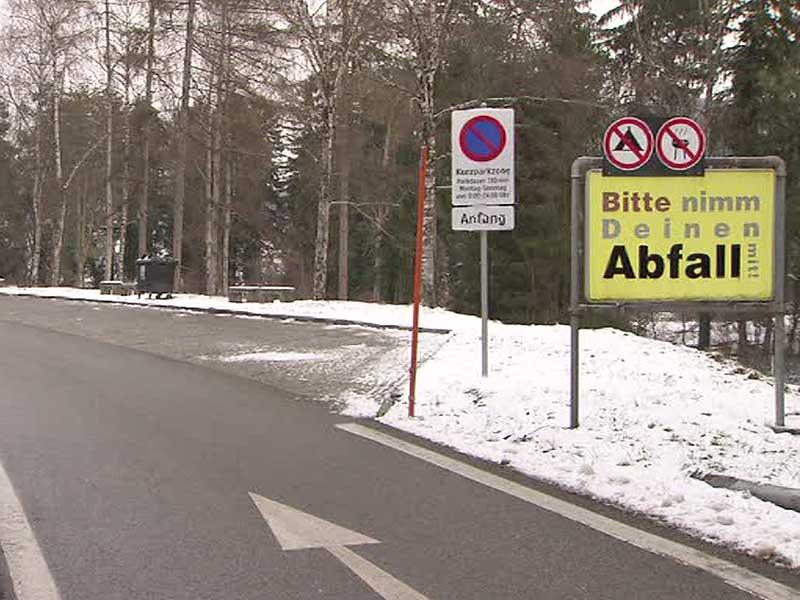 Kurzparkzone Autobahn Rankweil