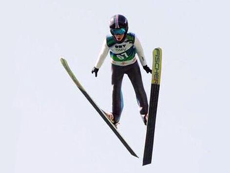 Julijan Smid skakalec smučarski nordijski Zahomc skoki
