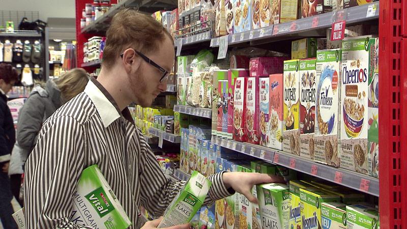 Lehrlinge Billa Spar Supermarkt