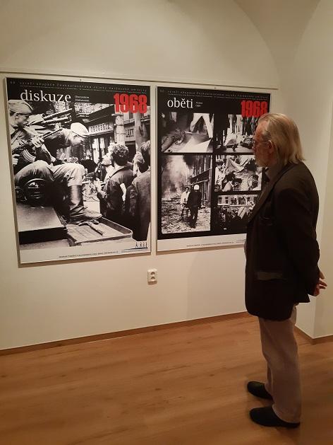 Výstava Přišli jsme v roce 1968