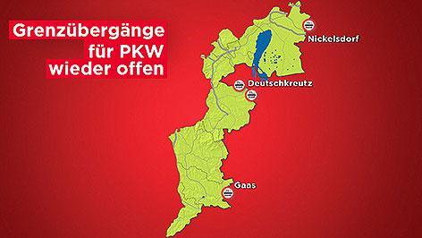 Ungarische Delegation in Oberwart