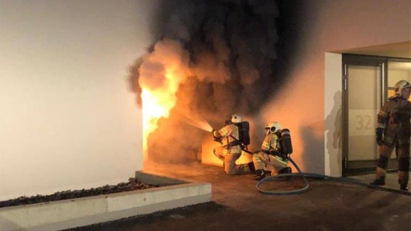 Brand Müllinseln Serie Brandstifter