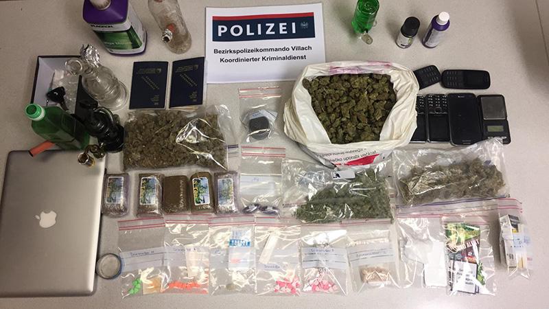 Drogenfund Villach Land 38 Jährige Haft Deutschland