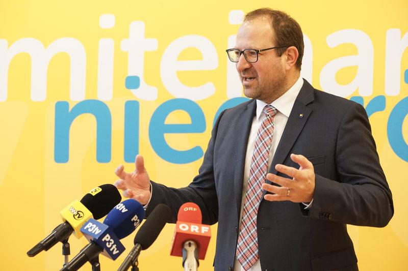 Bernhard Ebner Landesgeschäftsführer ÖVP