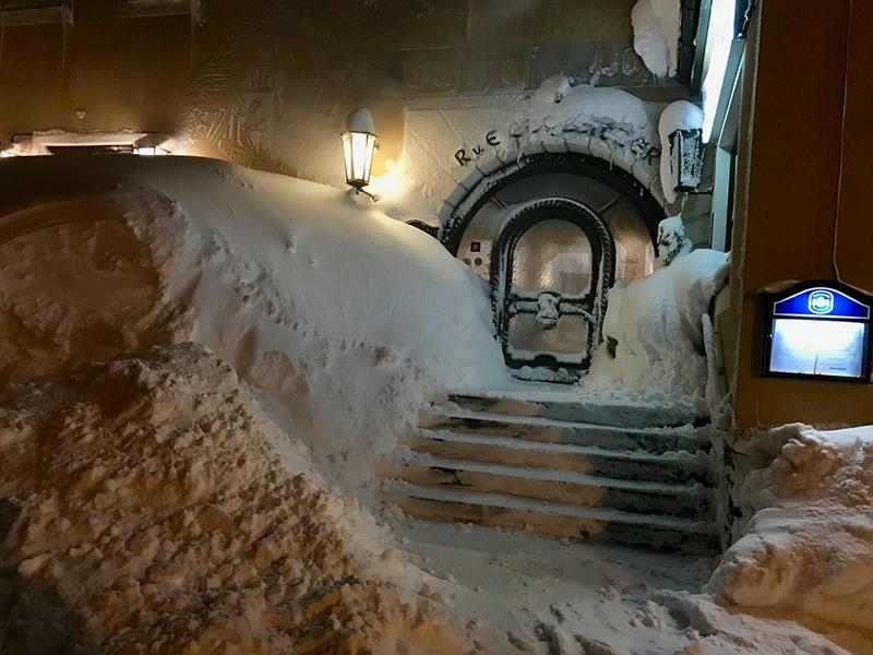 Gasthaus Annaberg Schnee Schneesituation