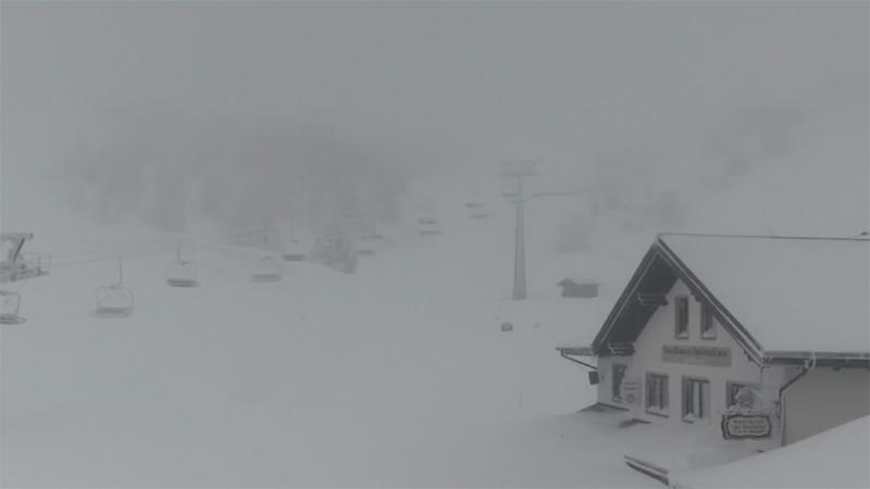 Schnee Lawinengefahr Lackenhof gesperrt