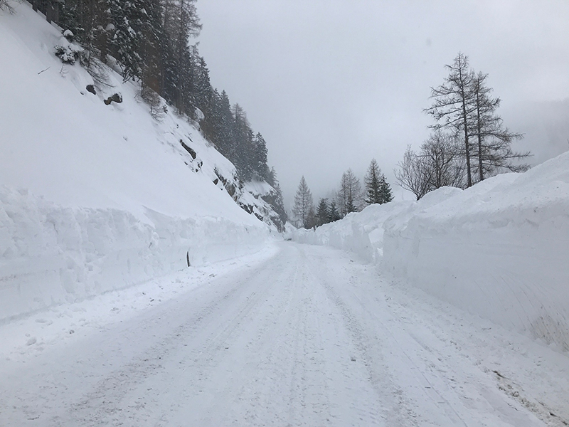 Mautstraße Hochkar Räumung Schnee
