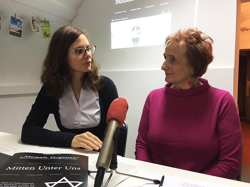 Anja Haider-Wallner und Christiane Moritz