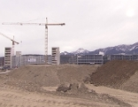 Infineon Bauarbeiten im Gang