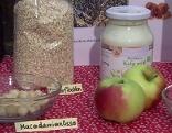 Zutaten für gesundes Müsli