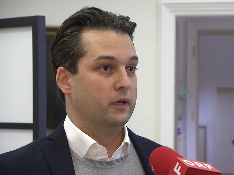 Wiens Vizebürgermeister Dominik Nepp (FPÖ)