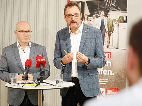 Gerhard Michalitsch und Christian Koisser