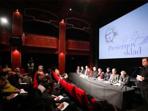 Prešernova nagrada nagrajenci Bjanka Adžić Ursulov Filip Robar Dorin