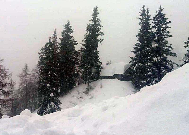 Schnee Abtenau Quehenberghütte Neuschnee Winter