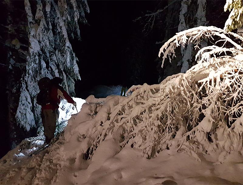 Tauglbodenalm Bergung Bergrettung Suchaktion Bergretter Rettungseinsatz
