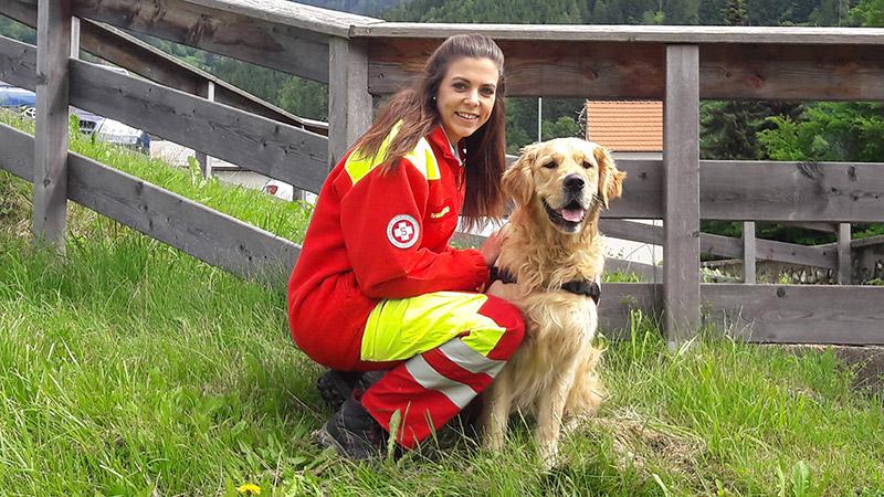Rettungshund Abgängiger gefunden