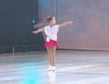 Sarha 9-jährige Holiday on Ice