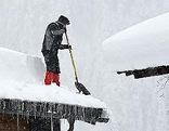 Schnee Situation