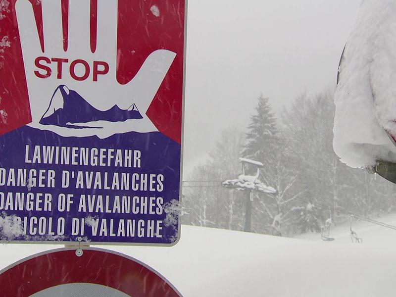 Lawinengefahr Skigebiet Lackenhof