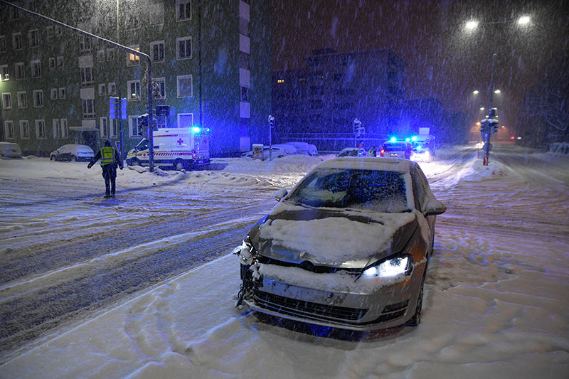 Unfall Rettungswagen