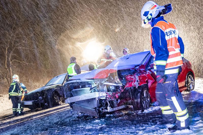 Verkehrsunfall in Plesching