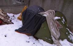 Grätzelpolizisten Obdachlose
