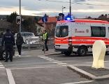 Straßenbahnunfall in Floridsdorf