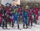 Skibergsteiger Bischofshofen