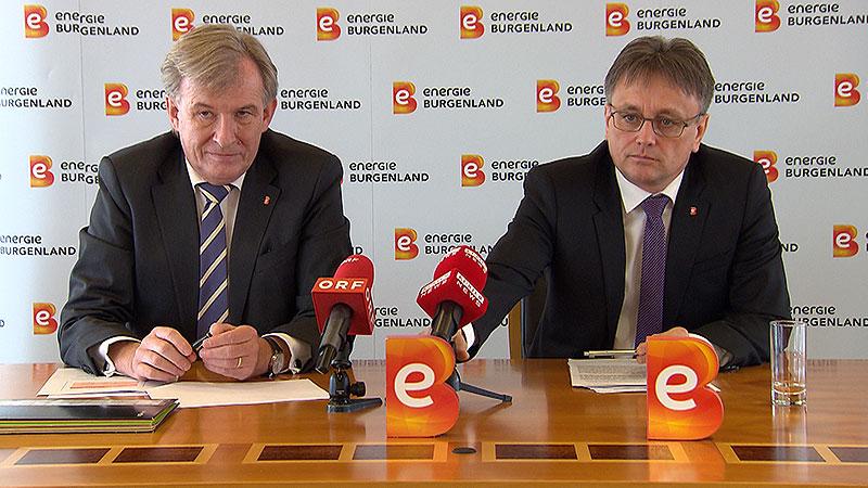 Alois Ecker und Michael Gerbavsits