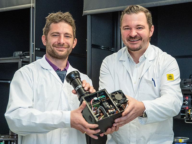 """Christoph Gamauf und Michael Steiner mit der """"Gewinner-Technik"""""""