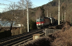 Güterbahn Trasse Wörthersee