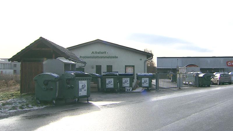 Altstoffsammelstelle in Jennersdorf