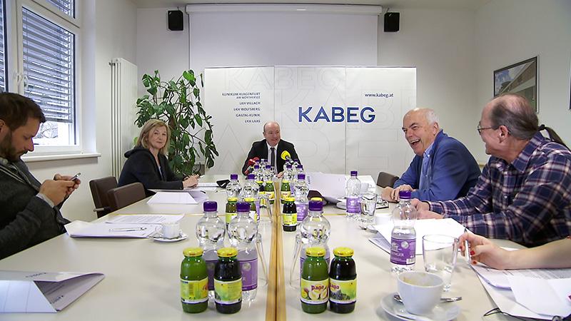 Pressekonferenz KABEG