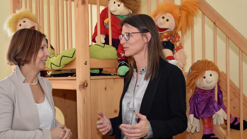 Petra Sansone und Gabriele Fischer